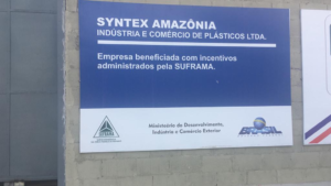 SYNTEX AMERICA invests in the manufacture of injected plastic products for the civil construction segment in  Manaus Free Trade Zone